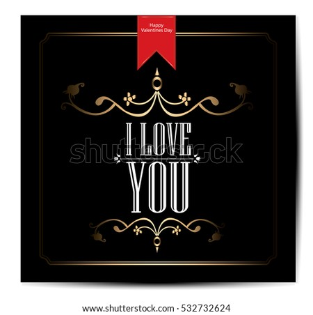love happy valentines day card font type - Happy Valentine S Day