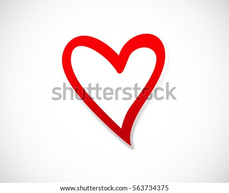 Love Heart Vector Stock Images, Royalty-Free Images ...