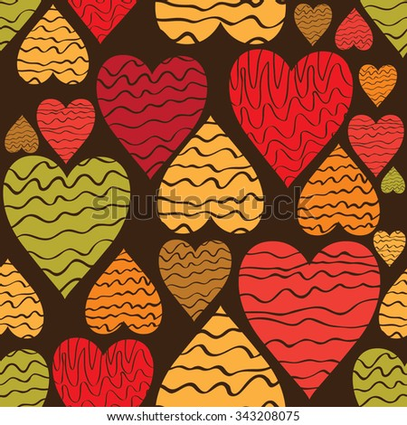 Love hearts pattern_3