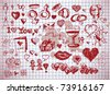 love pictures - stock vector