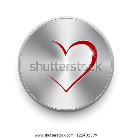 Love switch - stock vector
