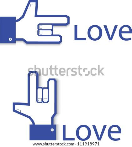 Love symbol, Valentine - stock vector