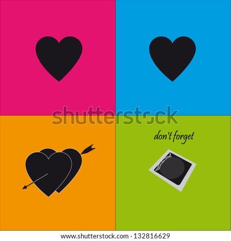 love   vector - stock vector