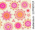 Lovely seamless pattern - stock vector