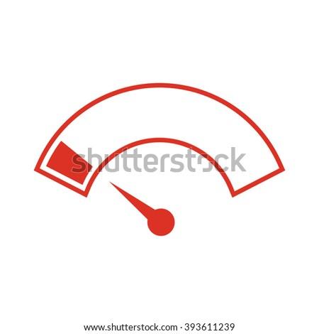 low energy icon - stock vector