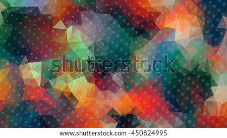 low poly abstract background mosaic