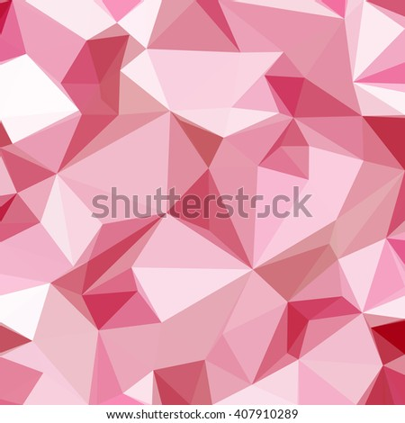 Low Poly Abstract Pattern, Colorful Polygonal Background. Vector - stock vector
