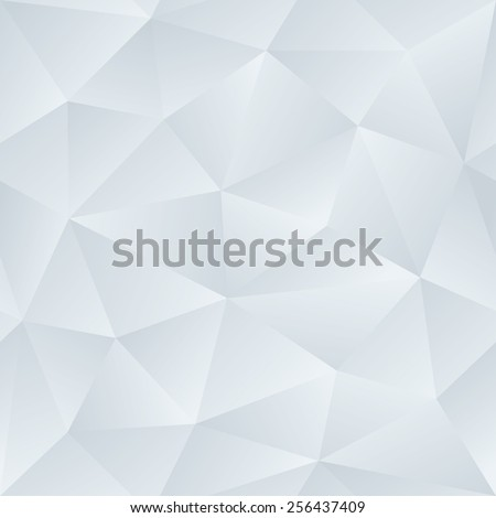 Low Poly Satin Seamless Vector Neutral Background. - stock vector