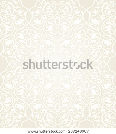 Luxury floral seamless in damask style. Seamless background. Vector illustration