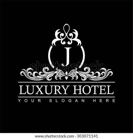 Wedding logo stock images royalty free images vectors for Boutique hotel logo