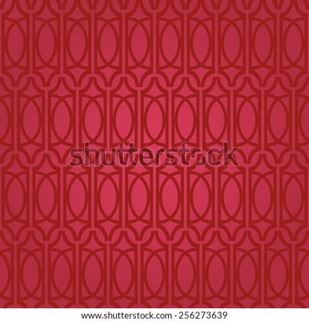 Luxury ornamental floral  wallpaper pattern. Traditional Arabic ornament. - stock vector