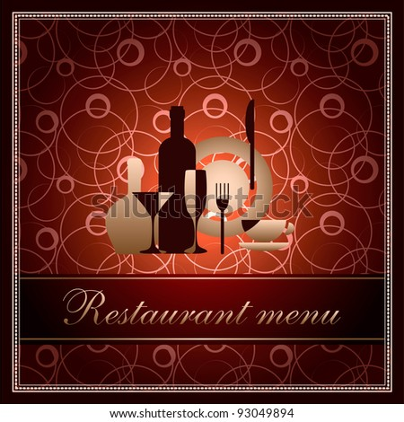 luxury template for restaurant menu