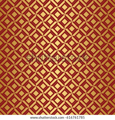 Luxury Vector Pattern, packing design. Repeating motif. Golden texture. Seamless geometric pattern. Golden background.