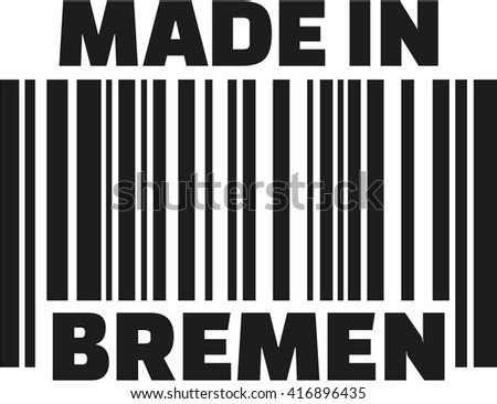 Made in Bremen barcode
