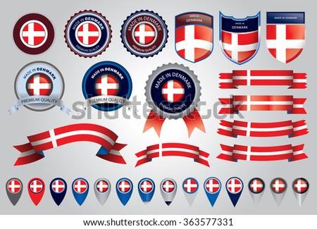 Danish Flag Stock Photos, Royalty-Free Images & Vectors ...