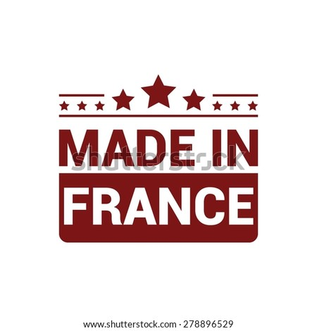 Made In France Stamp Stock Photos Images Pictures