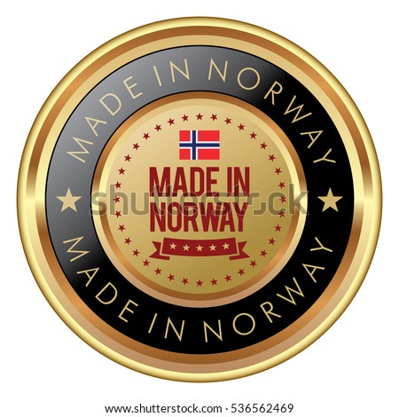 Made in Norway badge