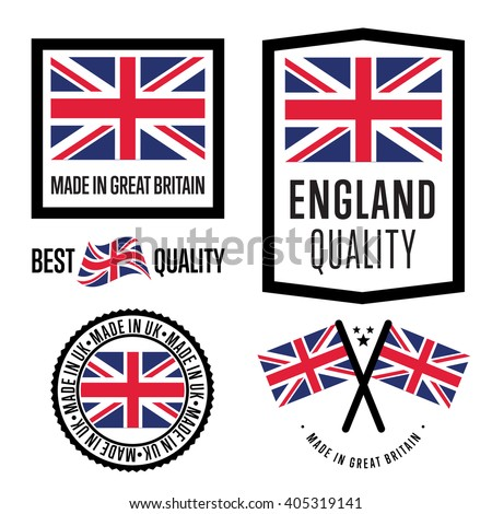 Stock vector of made in uk stamp