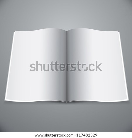 Magazine template for your presentation