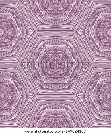 Magenta abstract seamless wallpaper. Unusual. - stock vector