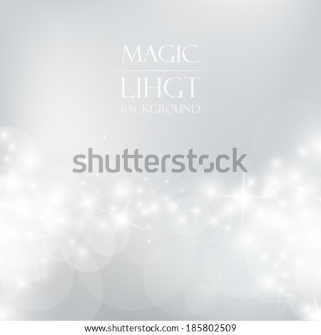 Magic Light Background - stock vector
