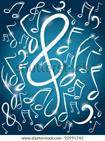 magical music notes