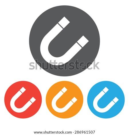 Magnet Symbol Set Stock Vector 286961507 - Shutterstock