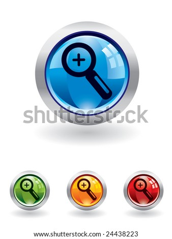 Magnifier button from series