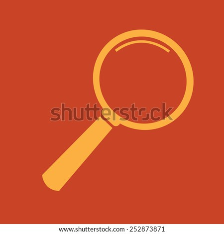 Magnifying Glass Icon,  magnifying glass,  search icon - stock vector