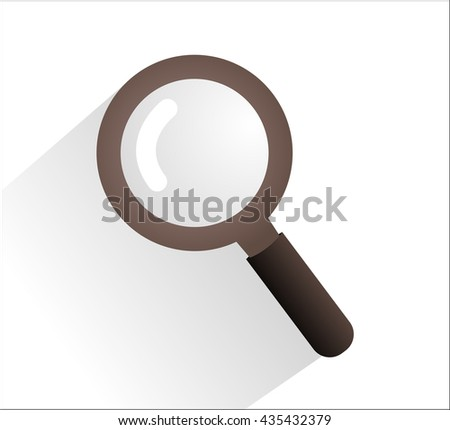 Magnifying Glass. Isolated objects.  - stock vector