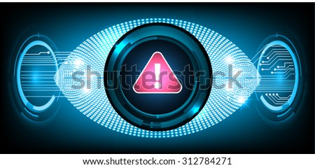 Magnifying Glass scanning and identifying a computer virus. Antivirus protection and computer security concept. PC. vector one zero. scan. technology digital website internet web - stock vector
