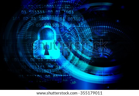 Magnifying Glass scanning and identifying a computer virus. Antivirus protection and computer security concept. PC. vector one zero. scan. technology digital website internet web. Global. key - stock vector