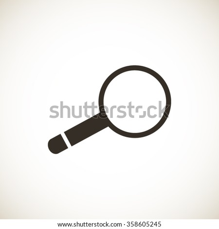 Magnifying Glass vector icon