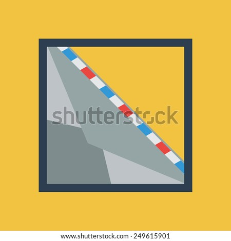 Mail Icon. Envelope for Letters.Vector illustration - stock vector
