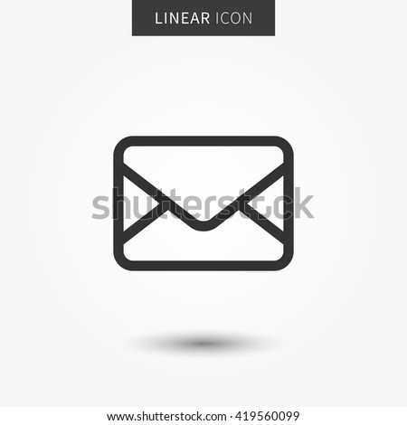 Mail icon. Mail icon vector. Mail icon illustration. Isolated mail symbol. Mail icon. Mail icon. Mail icon. Mail icon. Mail icon. Mail icon. Mail icon. Mail icon. Mail icon. Mail icon. Mail icon. Mail - stock vector