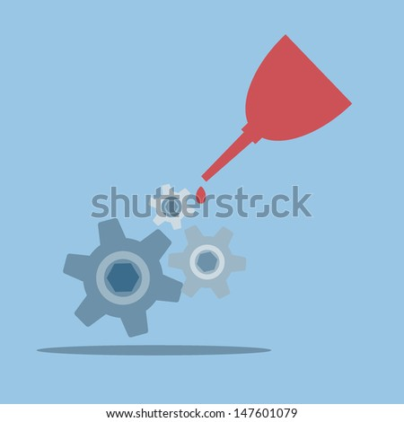 maintenance - stock vector