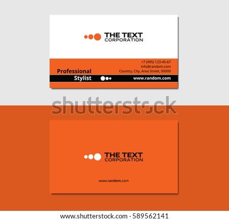 Makeup Artist Business Card Vector Format Purple Color
