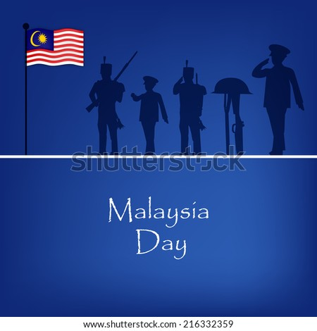 Malaysia Day background
