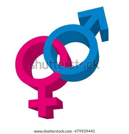 male and female symbol isolated icon vector illustration design