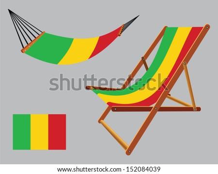 Wavy flag of Democratic Republic of Congo Vector Image #38721 ...
