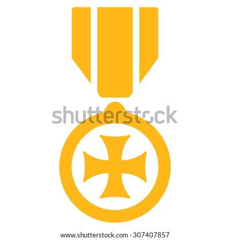Maltese Cross Icon Vector Style Flat Stock Vector 307407857