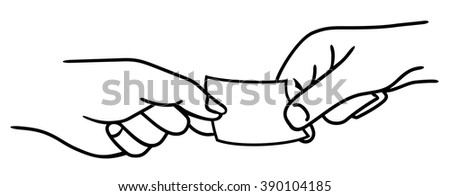 Man and woman pulling a sheet. Vector illustration isolated on white background for label, icon, web