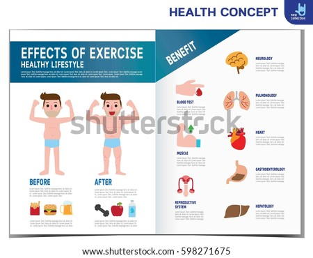 Fat Man Diabetes Diabetic Infographics Elements Medical Healthcare