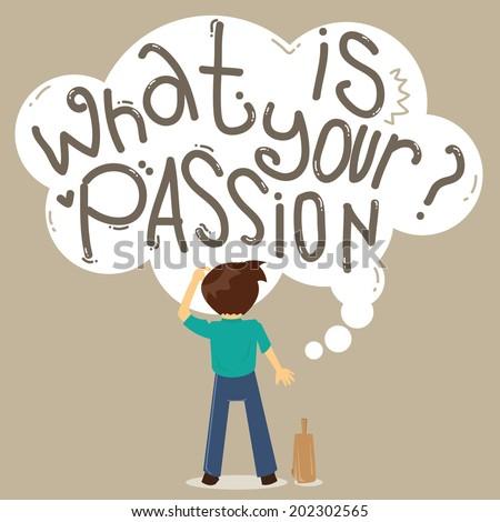 Man Employee Seek Job Passion Stock Vector 202302568 - Shutterstock