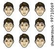 man face - stock