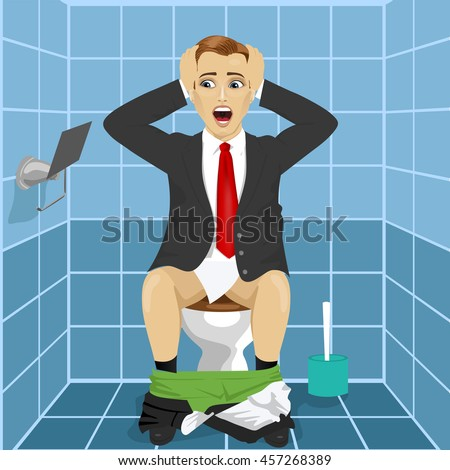 Cartoon Business Man Stock Images Royalty Free Images