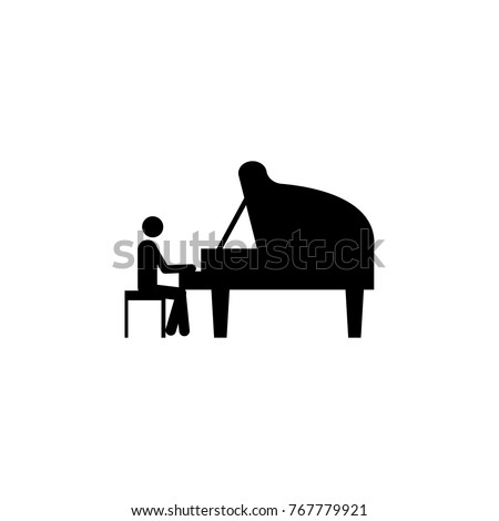 Piano Player Silhouette | www.pixshark.com - Images ...