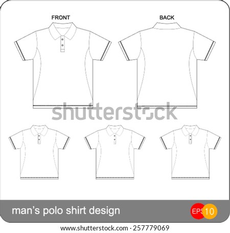 Womens Fitted Tshirt Templates Series 1roundneck Stock