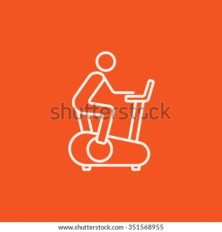 Exercise Bike Gym Stock Images Royalty Free Images Vectors