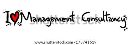 Management consultancy love